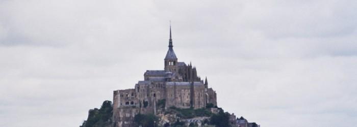 Mont-Saint-Michel. Vista desde el istmo